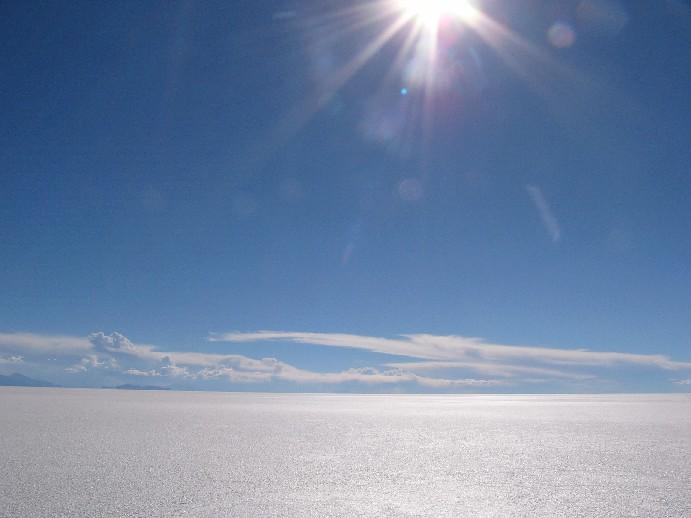 Salar Uyuni Bolivie